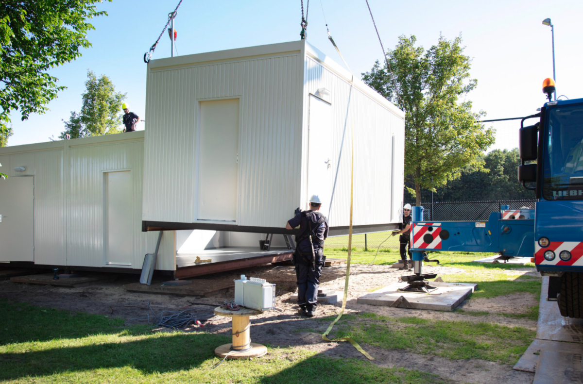 Aannemer Dordrecht voor modulair bouwen project